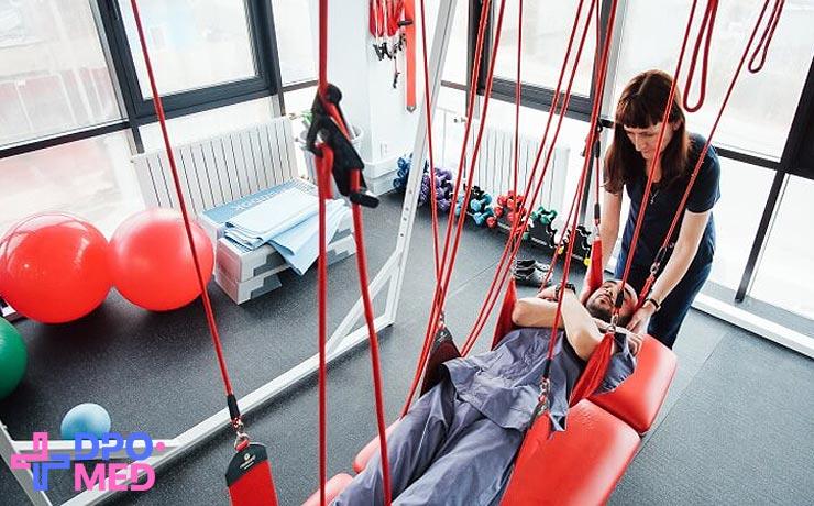 Лечебная физкультура, дистанционное обучение медиков
