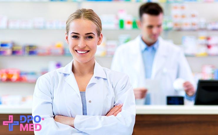 профессиональная переподготовка фармацевтов