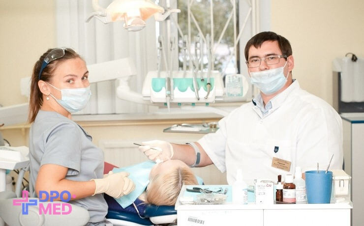 Обучение ассистента стоматолога