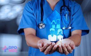 Организация здравоохранения: дистанционное обучение