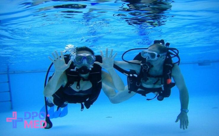 Повышение квалификации - по водолазной медицине