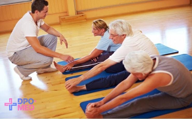 Профессиональная переподготовка - лечебная физкультура