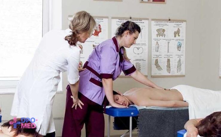 Скоро в ДПО-МЕД: практические занятия по массажу